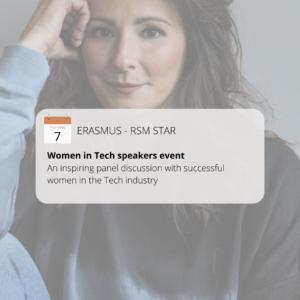 Speaker about entrepreneurship and women in IT