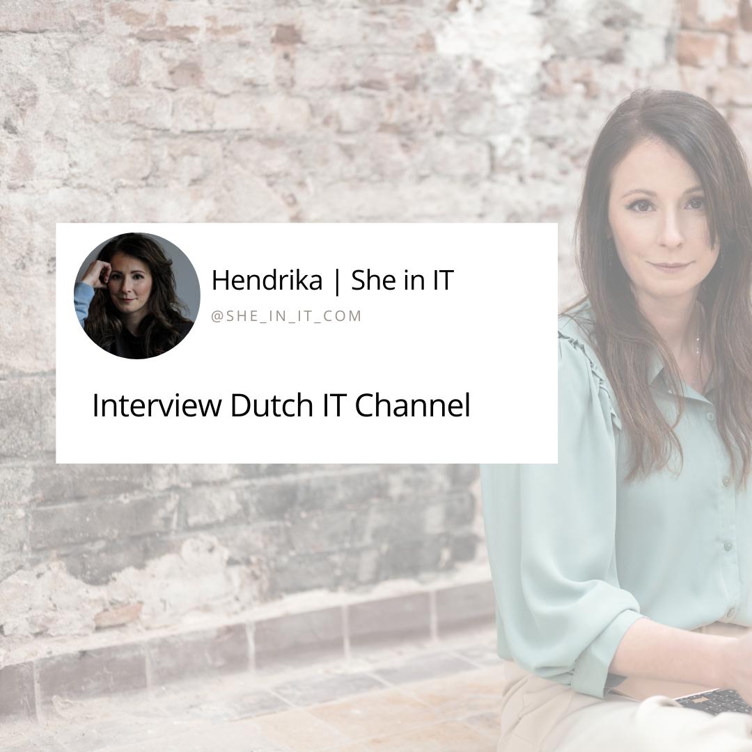 Interview Dutch IT Channel