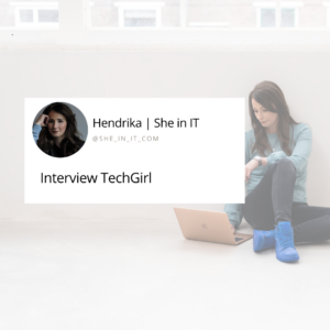Interview about entrepreneurship and women in IT